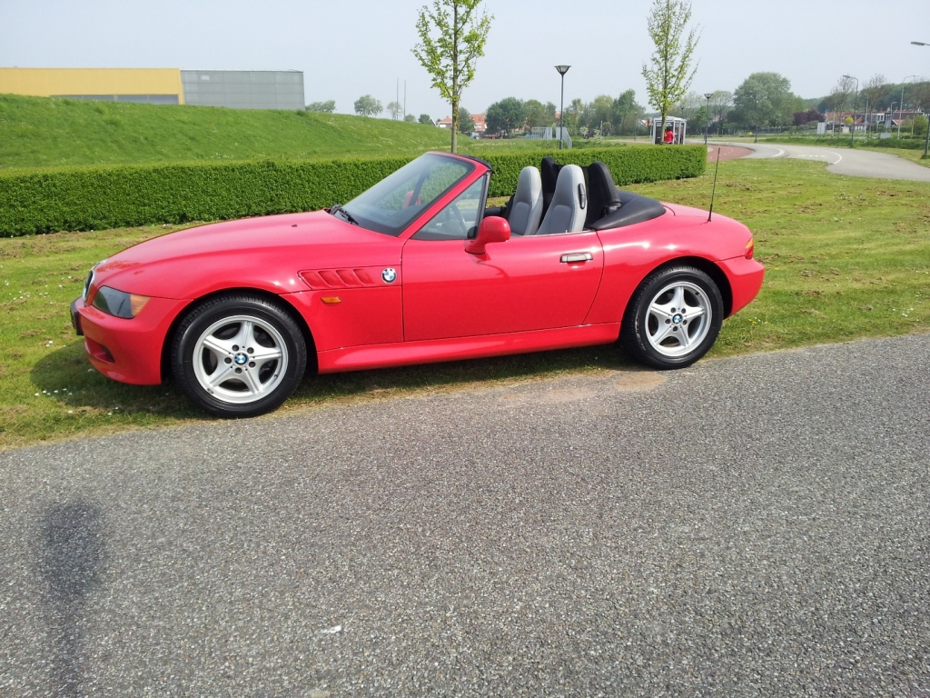 Bmw Z3 Rood 1998 Verkocht